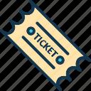 coupon, pass, ticket, token icon