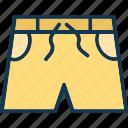 skivvies, swim shorts, undergarments, briefs, shorts