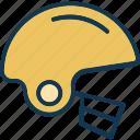 cap, helmet, safety, sportsman icon