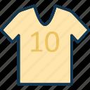 athlete shirt, clothes, shirt, sports shirts icon