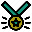 award, badge, champion, medal, prize, trophy, winner icon