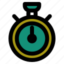 hour, smartwatch, stopwatch, time, timer, watch icon