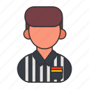 card, football, foul, people, referee, soccer, sports icon
