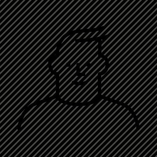 human, man, person, persona, profile, user icon