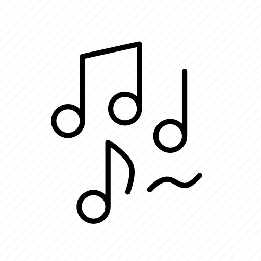 i want to listen to music, music, music note, note, song icon