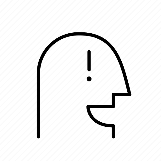 exclamation, i know, man, person, persona, profile icon