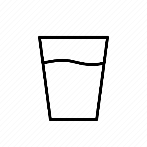 beverage, cup, drink, glass, juice, water icon