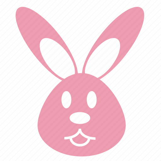 animal, bunny, cute, face, head, pet, rabbit icon