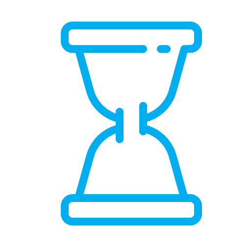clock, hourglass, time, timekeeper, timer, watch icon
