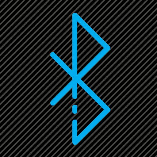bluetooth, hardware, network, wireless icon