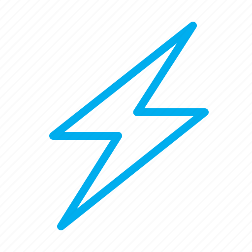 charging, flash, levin, lightning, loading, spark, zipper icon