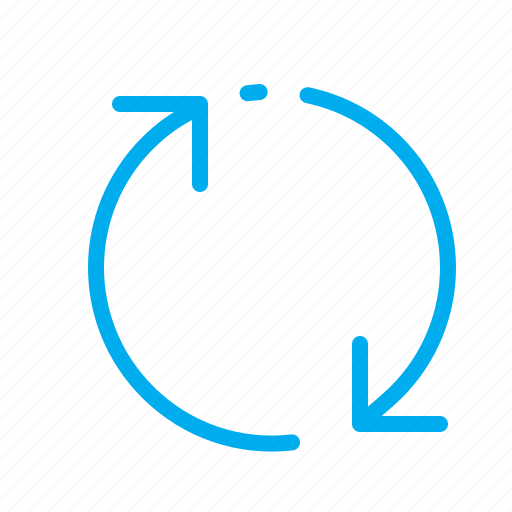 arrows, circle, internet, refresh, renovation, web icon
