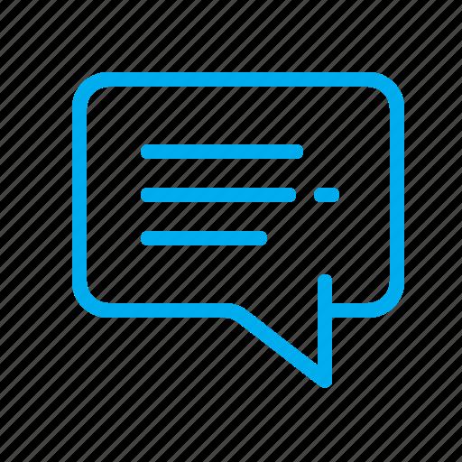 bubble, chat, comment, comments, dialog, discussion, talk icon
