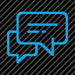 chat, comment, conversation, dialog, message, messages icon