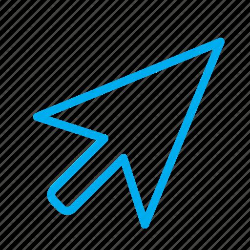 arrow, computer, cursor, desctop, interface, mouse, pointer icon