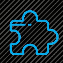 element, picture, piece, puzzle, secret icon
