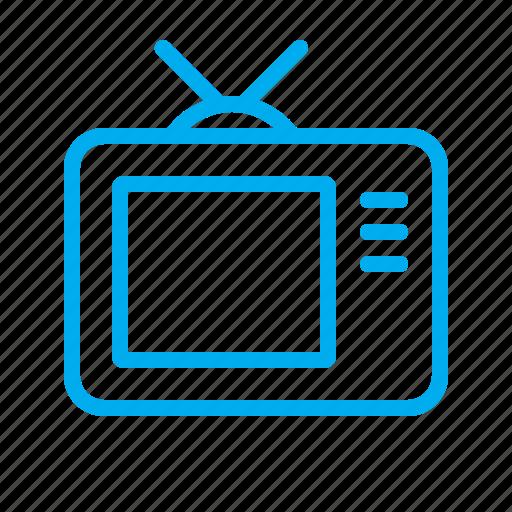 show, signal, stream, television, tv icon