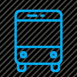 bus, city, passanger, transport, vehicle icon