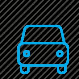 automobile, car, city, transoport, vehicle icon