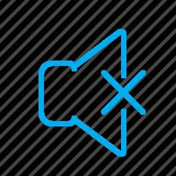audio, disabled, music, sound, speaker, tune, voice icon