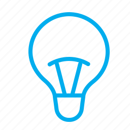 electricity, glass, idea, lamp, light icon