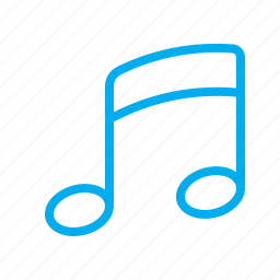 music, note, play, player, song, sound icon