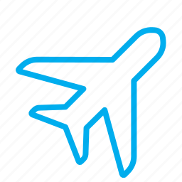 flight, plane, sky, tourism, trip icon