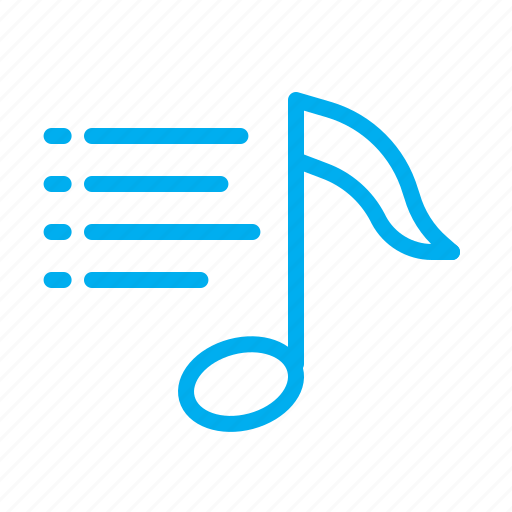 list, music, note, play, player, playlist icon
