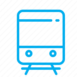 city, navigation, railway, tram, transport icon