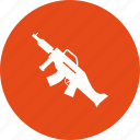 army, dangerous, gun, m60, machine, military, war icon