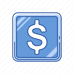 cents, coin, dollar, money icon