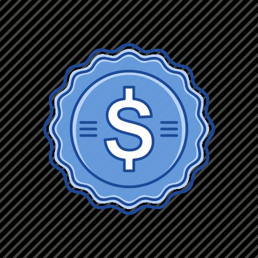 cents, coins, dollar, dollar coin icon
