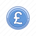 british pound, coins, money, pound icon