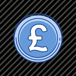 british pound, coins, money, pound icon