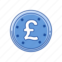 british pound, cents, coins, pound icon