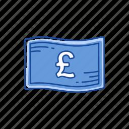 bill, cash, euro money, money icon
