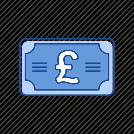 bill, british pound, money, pound icon