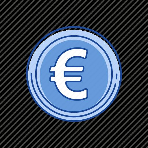 coin, euro, european money, money icon