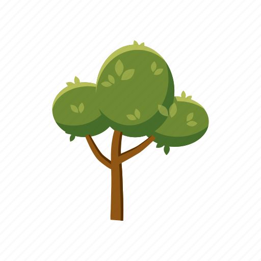 blog, branch, cartoon, fluffy, nature, plant, tree icon