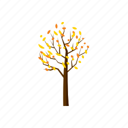 autumn, blog, cartoon, fall, nature, season, tree icon