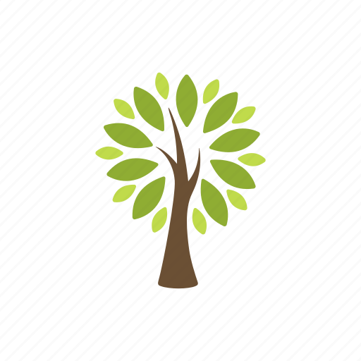 forest, garden, leaves, nature, plant, tree, wood icon