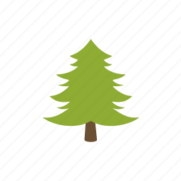conifer, eco, forest tree, green, nature, tree, wood icon