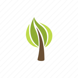 eco, forest, leafy, nature, plant, tree, wood icon