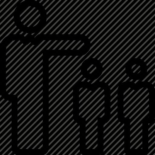 advisor, forex, recommender, referals, referral, referrer, subordinates icon