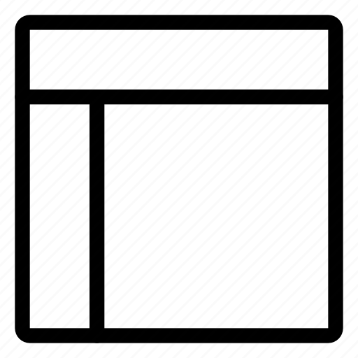 alignment, file, format, layout icon