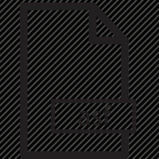 asf, computer, file, format, send, share icon