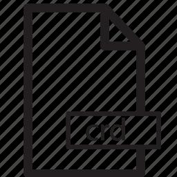 computer, crd, file, format, send, share icon