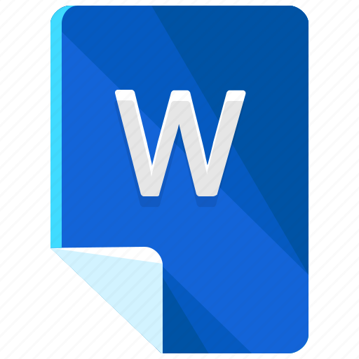 extension, file, format, w icon