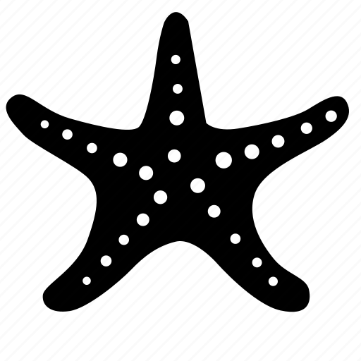 ocean, plant, sea, star, under, water icon