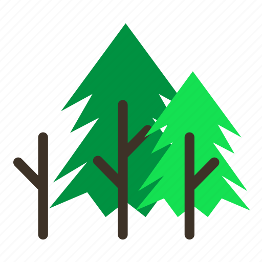 branch, forestry, forrest, pine, spike, tree, trees icon